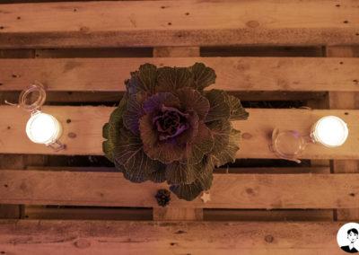 Chou de décoration et bougies parfumées fait main
